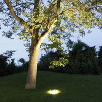 Luminaria empotrable de suelo / LED / fluorescente compacta / HID