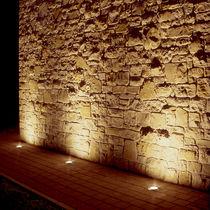 Luminaria empotrable de suelo / LED / halógena / redonda