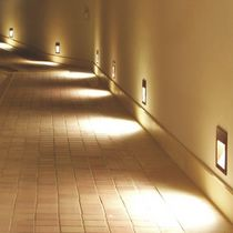 Luminaria empotrable de pared / LED / halógena / HID