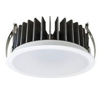 Downlight empotrable / LED / redondo / de aluminio