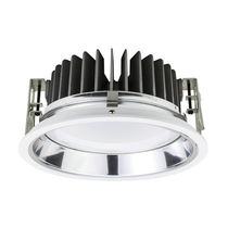 Downlight empotrable / LED / redondo / de policarbonato