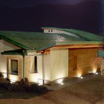 Luminaria empotrable de suelo / HID / fluorescente compacta / LED