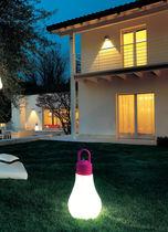 Lámpara portátil / moderna / de polietileno / para jardín