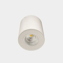 Downlight montado en superficie / LED / redondo / de vidrio