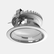 Downlight empotrable / LED / redondo / de chapa de acero