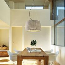 Lámpara suspendida / moderna / de hierro fundido / de poliuretano