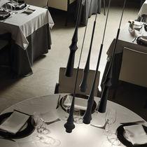 Lámpara suspendida / moderna / de aluminio / LED