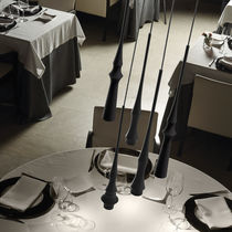 Lámpara suspendida / moderna / de aluminio / de interior