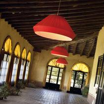 Lámpara suspendida / moderna / de hierro / fluorescente compacta