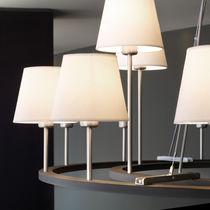 Lámpara araña moderna / de cromo / de algodón / de incandescencia