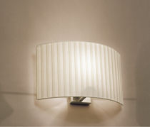 Aplique moderno / de tela / LED / fluorescente compacta