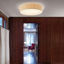 Plafón moderno / redondo / de algodón / LED