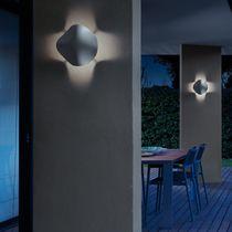 Aplique moderno / de exterior / de poliuretano / LED