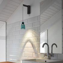 Aplique moderno / de vidrio borosilicato / LED