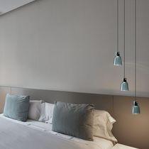 Lámpara suspendida / moderna / de vidrio borosilicato / LED