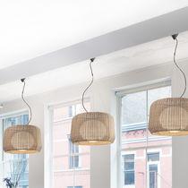 Lámpara suspendida / moderna / de aluminio / de polietileno
