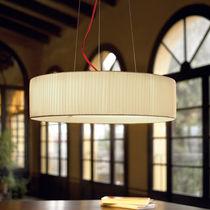 Lámpara suspendida / moderna / de algodón / de poliéster