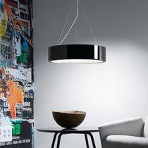 Lámpara suspendida / moderna / de vidrio / de poliuretano