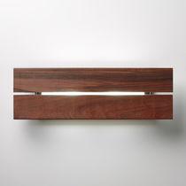 Aplique moderno / de exterior / madera / de aluminio