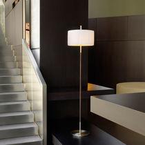 Lámpara de pie / moderna / de algodón / de hierro