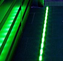 Luminaria empotrable de suelo / LED / lineal / de exterior