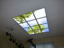 Panel led para techo / modular / regulable