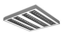 Luminaria empotrable de techo / suspendida / LED / fluorescente