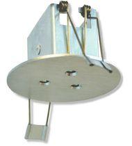 Iluminación de emergencia empotrable / redonda / LED / de aluminio