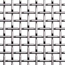 Tela metálica tejida para fachada / de metal / de malla cuadrada / de malla larga