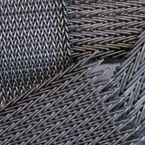 Malla metálica para revestimiento interior / para muro / de acero inoxidable / de latón