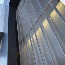 Malla metálica para fachada / de malla larga