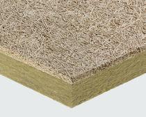 Panel acústico para loseta de falso techo / para falso techo / de lana de roca / de lana de madera