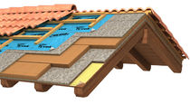 Panel aislante de alto rendimiento / alma de poliestireno expandido / caras de y alma de poliestireno / aislante de fibra de madera aglomerada