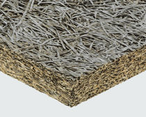 Aislante térmico / termoacústico / de lana de madera / de hormigón de madera