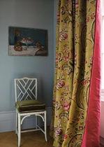 Tela de tapicería / de flores / de seda