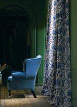 Tela para cortinas / color liso / adamascada