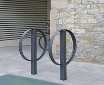 Aparcabicis de acero inoxidable / para espacio público