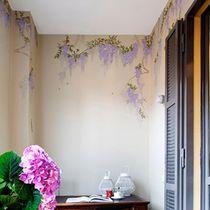 Papeles pintados clásicos / de seda / chinoiserie / hechos a mano