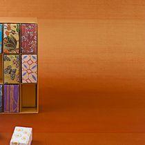Papeles pintados modernos / de seda / de color liso / hechos a mano