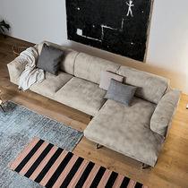 Sofá modular / moderno / de tejido / de acero