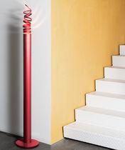 Columna luminosa moderna / de aluminio / LED / de exterior