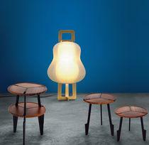 Lámpara de pie / moderna / de papel / de aluminio
