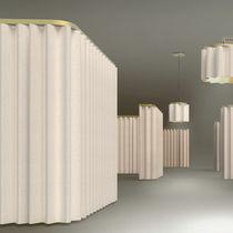 Lámpara suspendida / moderna / de tejido / acústica