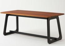 Mesa moderna / de haya / de cedro / rectangular