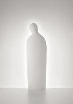 Lámpara de pie / de diseño original / de metal / de ABS