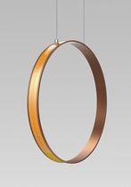 Lámpara suspendida / moderna / de aluminio / de metacrilato