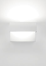 Aplique moderno / de metal pintado / halógeno / fluorescente