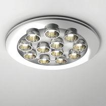 Downlight empotrable / montado en superficie / LED / redondo