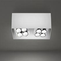 Foco de techo / de interior / LED / cuadrado