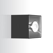 Aplique moderno / de aluminio anodizado / LED / cuadrado